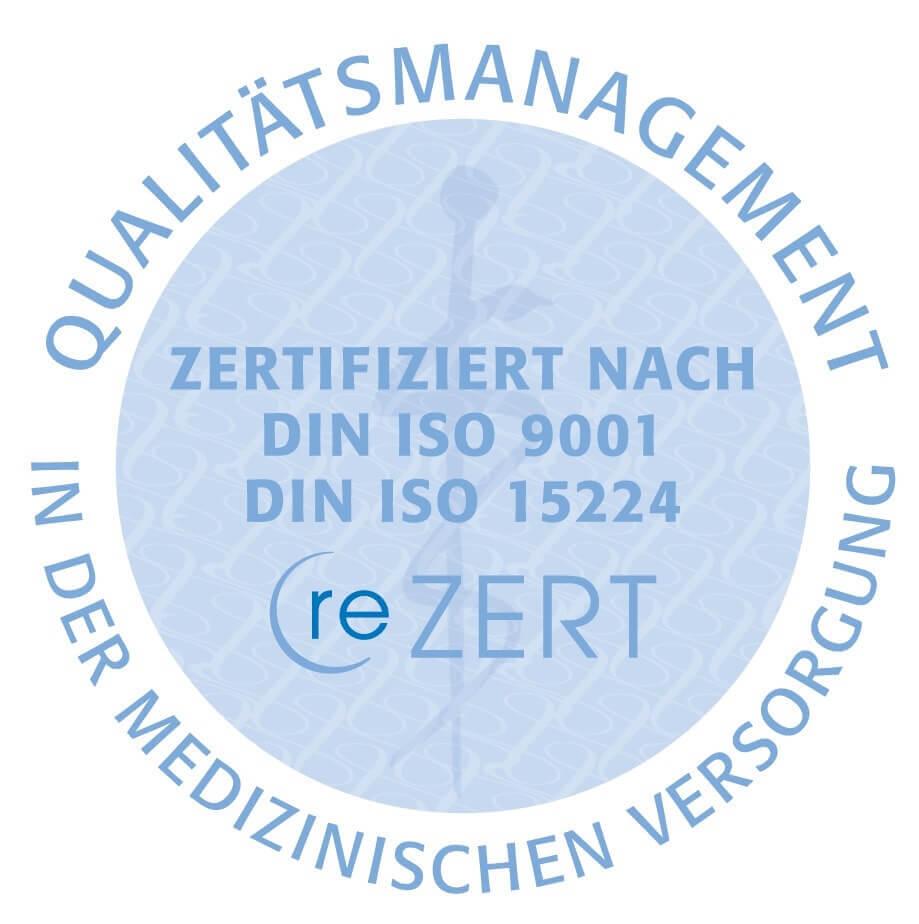 Siegel Qualitätsmanagement zertifiziert